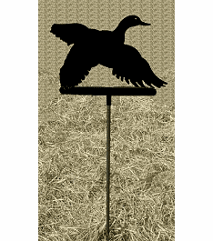 Flying Duck Garden Stake