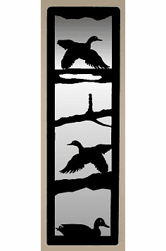 Flying Duck Large Accent Mirror Wall Art
