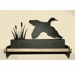 Flying Duck Paper Towel Holder With Wood Bar