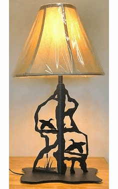 Flying Duck Scenery Style Table Lamp