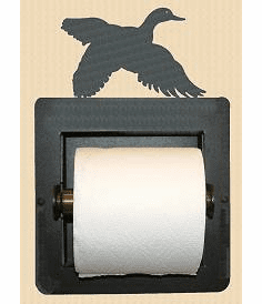 Flying Duck Toilet Paper Holder (Recessed)