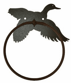 Flying Duck Towel Ring