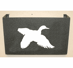 Flying Duck Wall Mount Magazine Rack