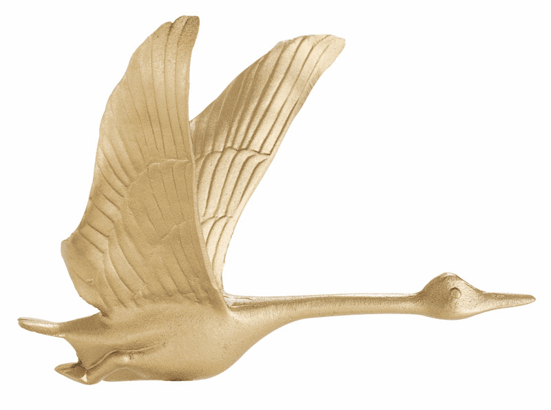 "Flying Goose Weathervane - 30"" Weathervane w/Full Bodied Goose Ornament"