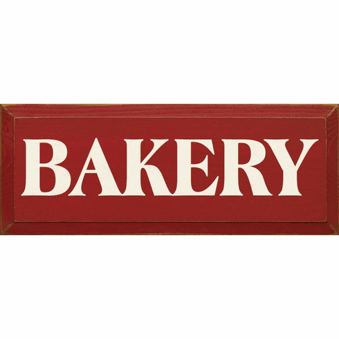 Food & Drink Sign...Bakery
