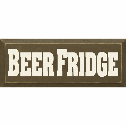 Food & Drink Sign...Beer Fridge
