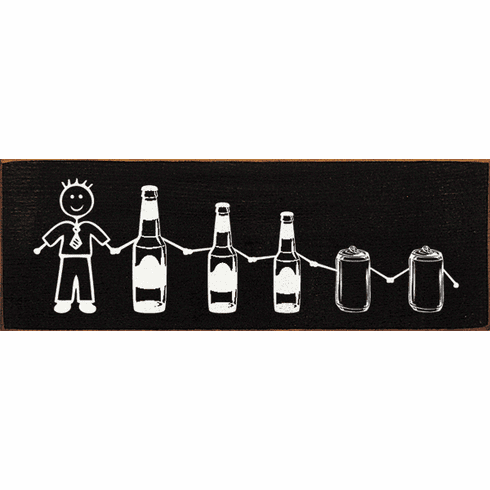 Food & Drink Sign...Beer Stick Family