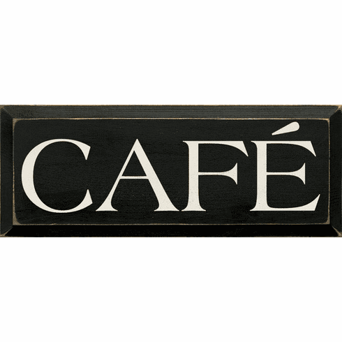 Food & Drink Sign...Cafe