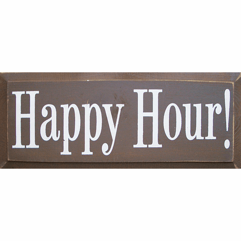 Food & Drink Sign...Happy Hour