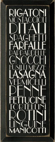 Food & Drink Sign...Kitchen Pasta Sign