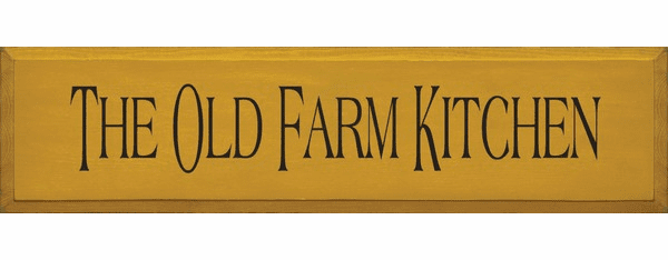 Food & Drink Sign...The Old Farm Kitchen