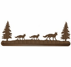 Fox Scenery Towel Bar