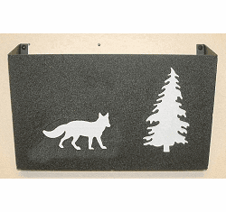 Fox Wall Mount Magazine Rack