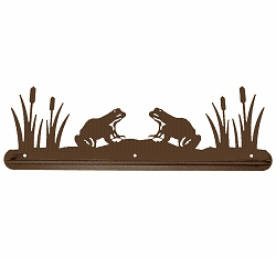 Frog Scenery Towel Bar