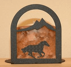 Galloping Horse Arched Candle Holder