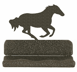 Galloping Horse Business Card Holder