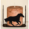 Galloping Horse Four Sided Candle Holder