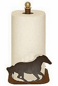 Galloping Horse Paper Towel Holder for Countertop