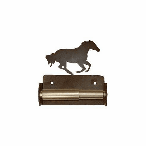 Galloping Horse Toilet Paper Holder (Spring Bar)