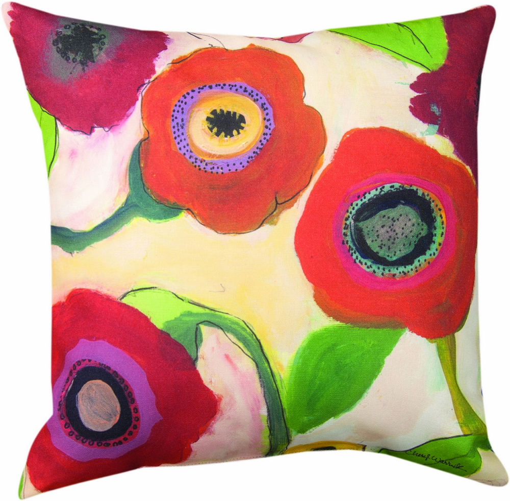 Garden and Flowers Climaveave Pillow