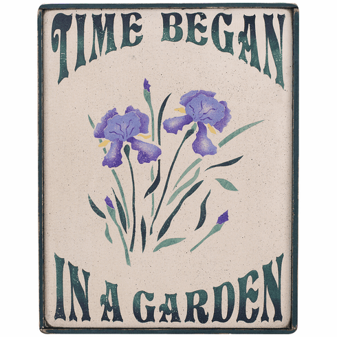 Garden Life - Time Began In A Garden (Iris)