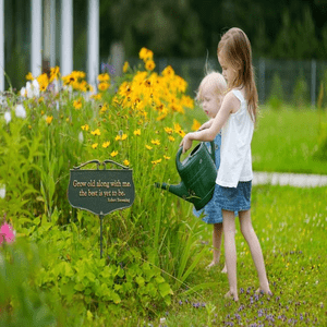 Garden Signs and Decorative Stakes