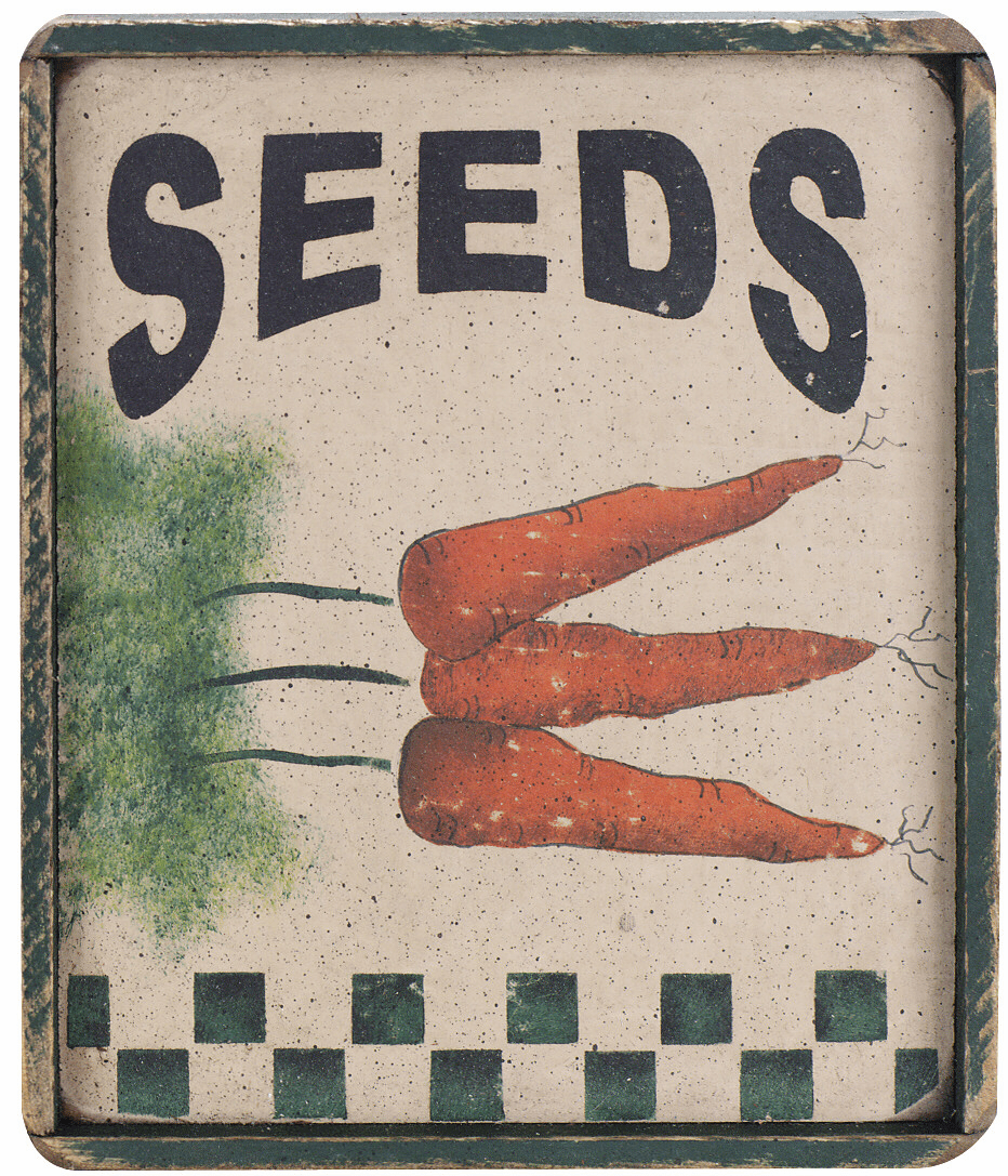 Gardener Gift - Seed Packet (Carrot)