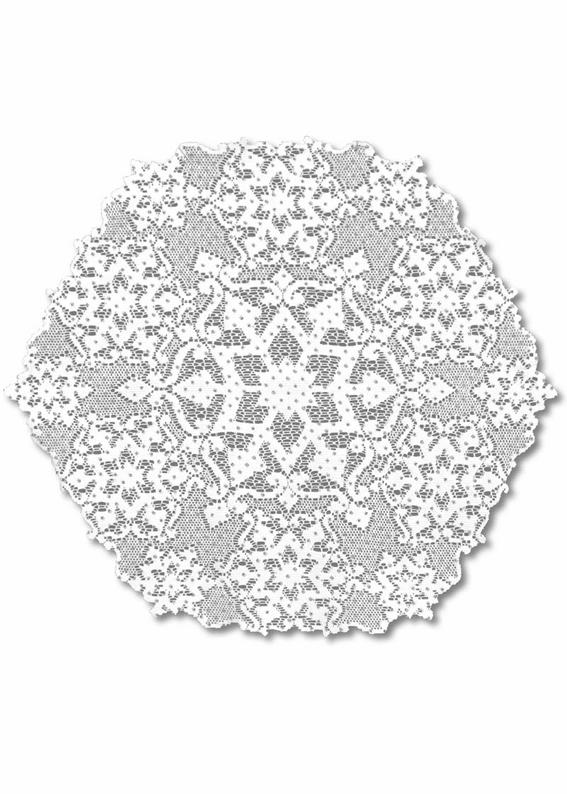 Glistsen Round Doily, set of 6