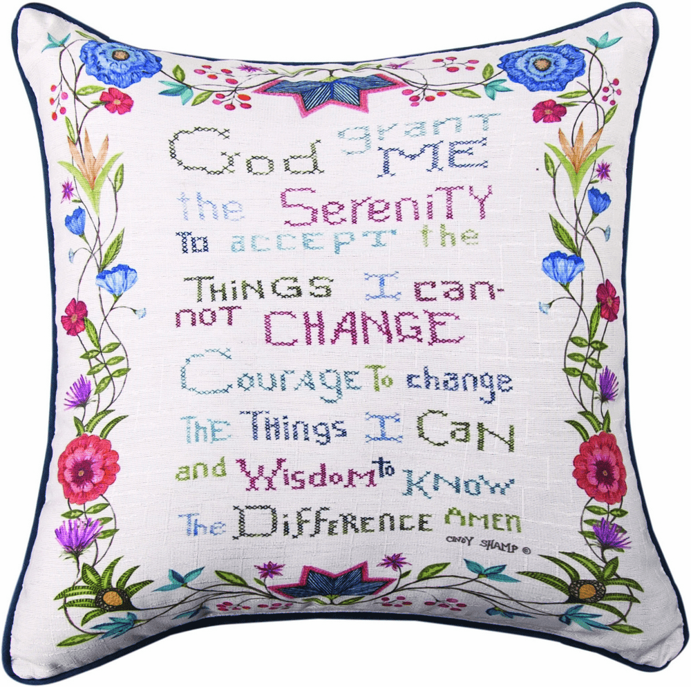 God Grant Me The Serenity Pillow