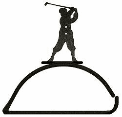 Golfer Design Paper Towel/Toilet Paper Holder
