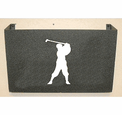 Golfer Wall Mount Magazine Rack