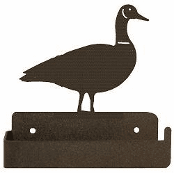 Goose One Piece Toilet Paper Holder