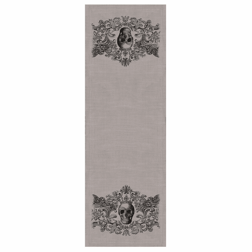 Gothic Skull Halloween LargeTable  Runner