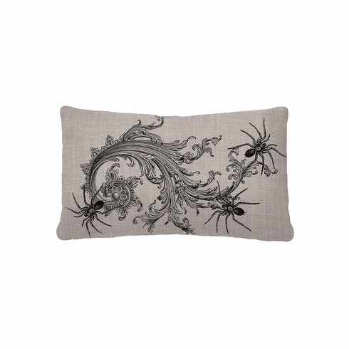 Gothic Spiders Halloween Small Pillow