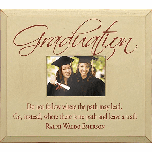 Graduation - Do Not Follow Where the Path May Lead�Frame