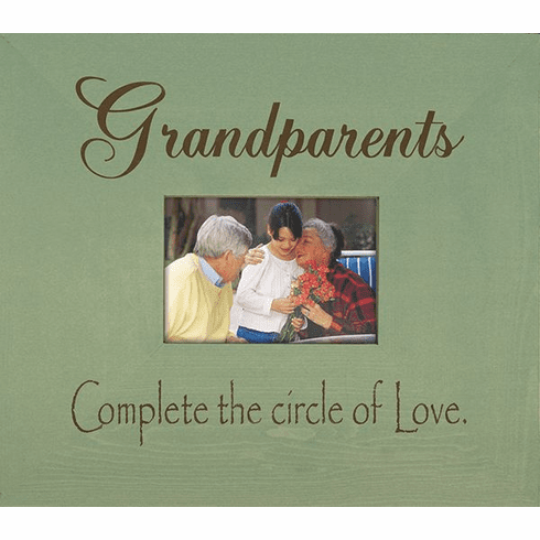 Grandparents - Complete the Circle of Love...Frame
