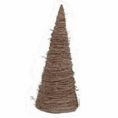 Grapevine tree, 12in tall, wide base