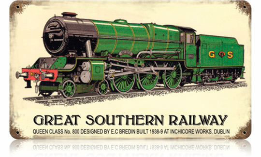 Great Southern Railway Sign