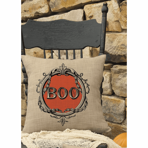 Halloween Frames Large Pillow