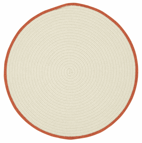 Hand-Braided Beige Sweet Potatoe Rug