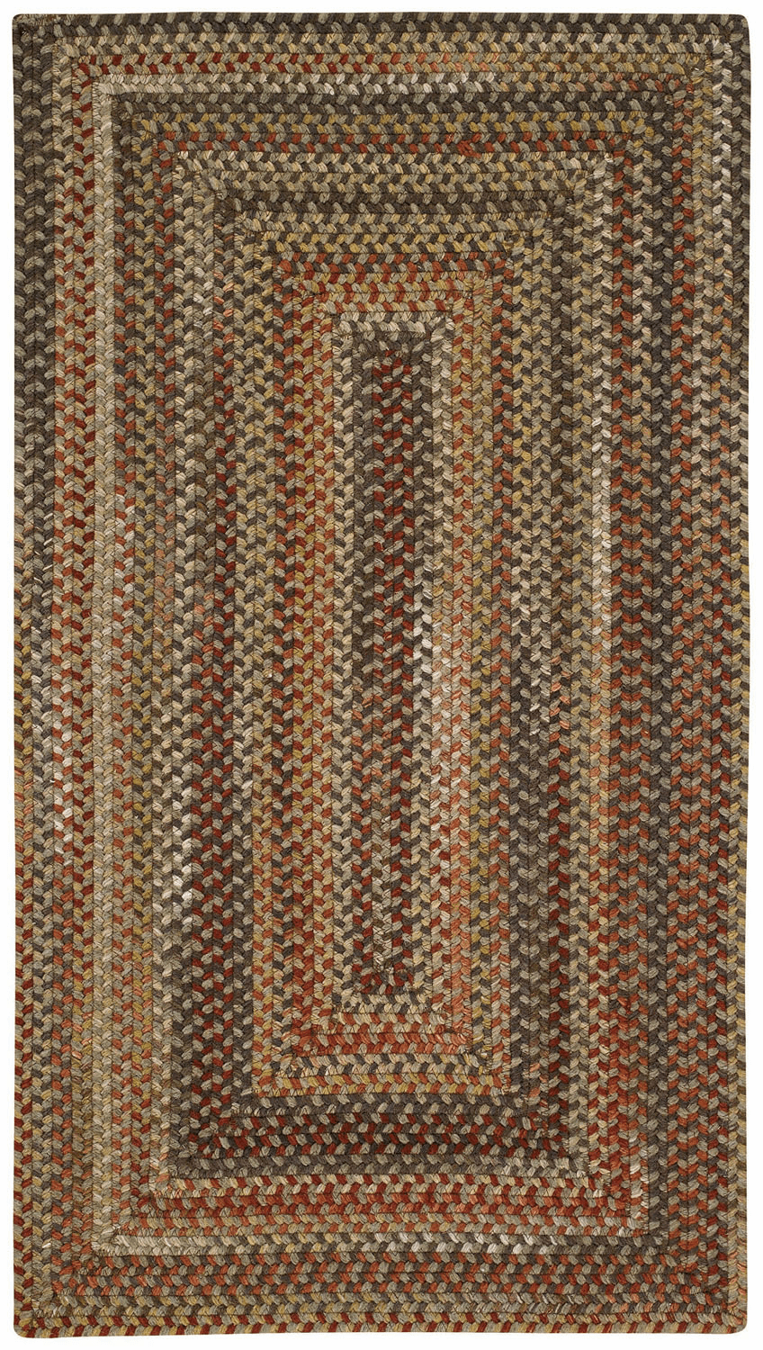 Hand-Braided Brown Hues Rug