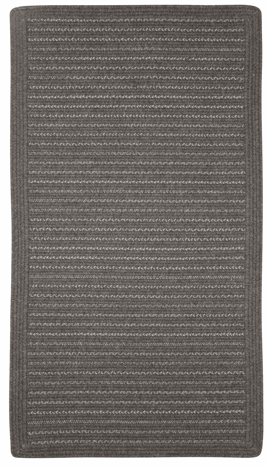 Hand-Braided Brown Rug