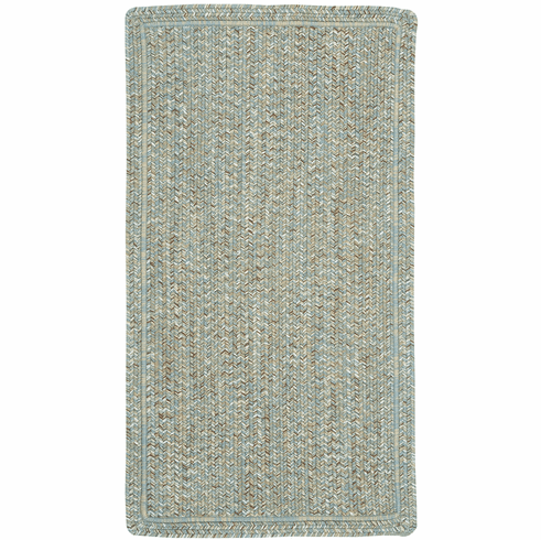 Hand-Braided Carribbean Rug