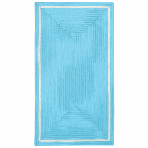 Hand-Braided Celestial Blue Rug