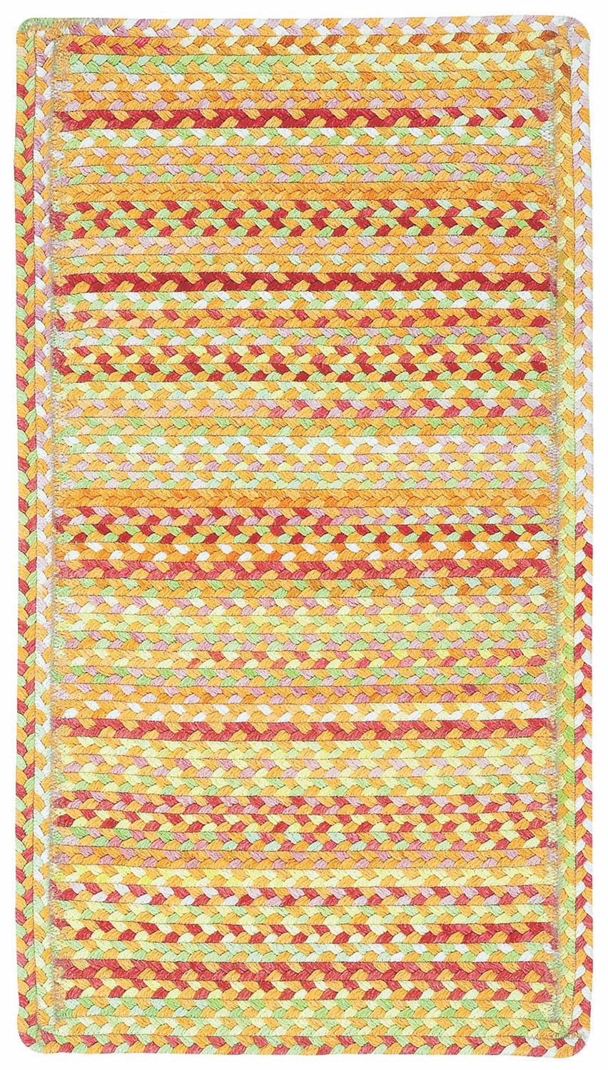 Hand-Braided Cinnamon Rug