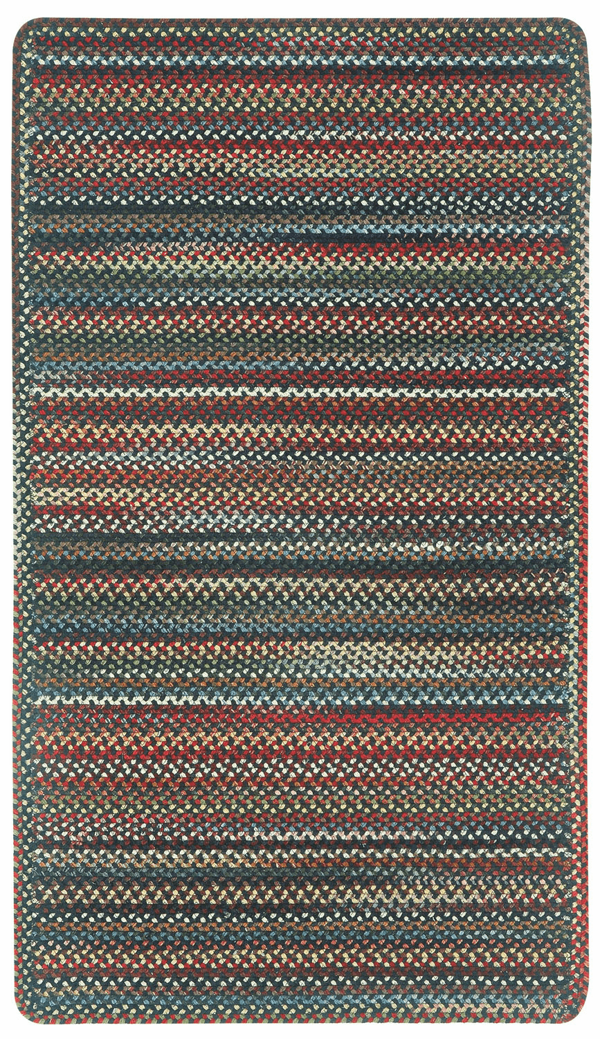Hand-Braided Coal Rug