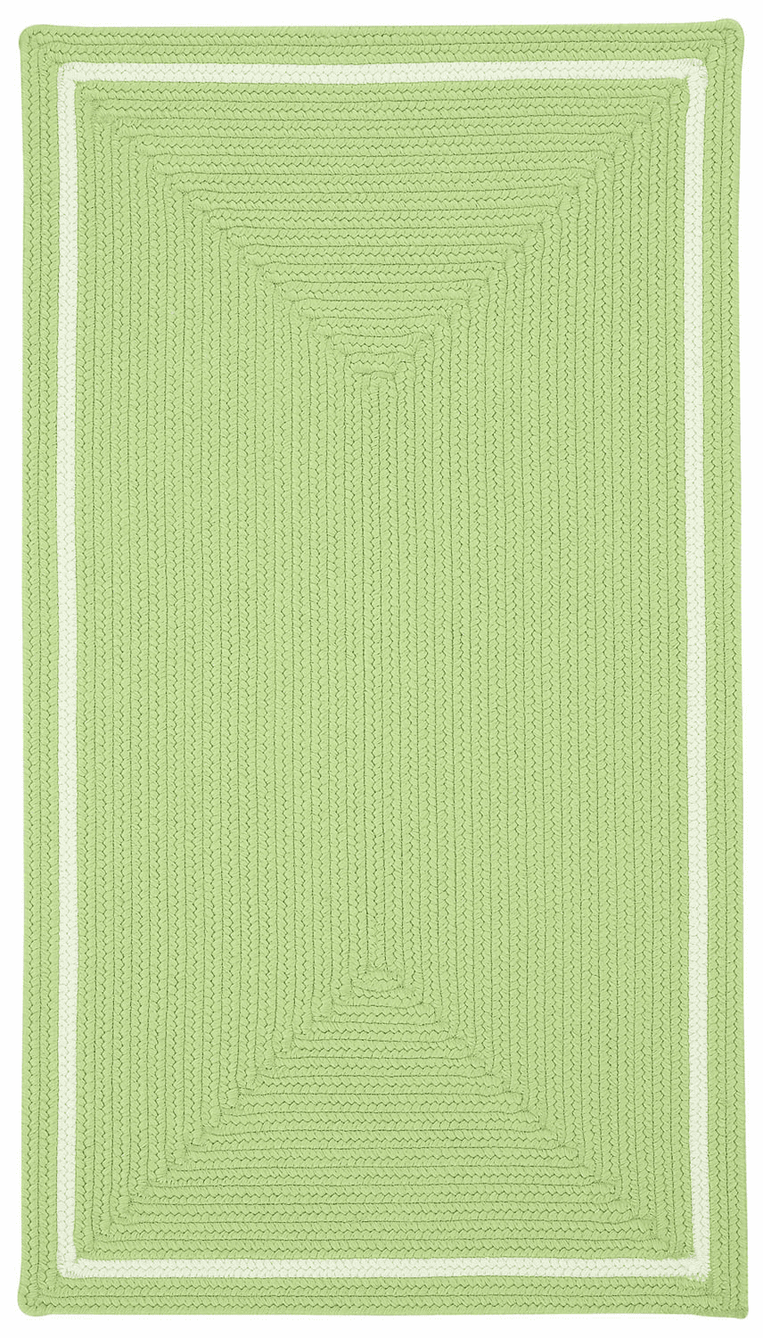 Hand-Braided Fronds Rug