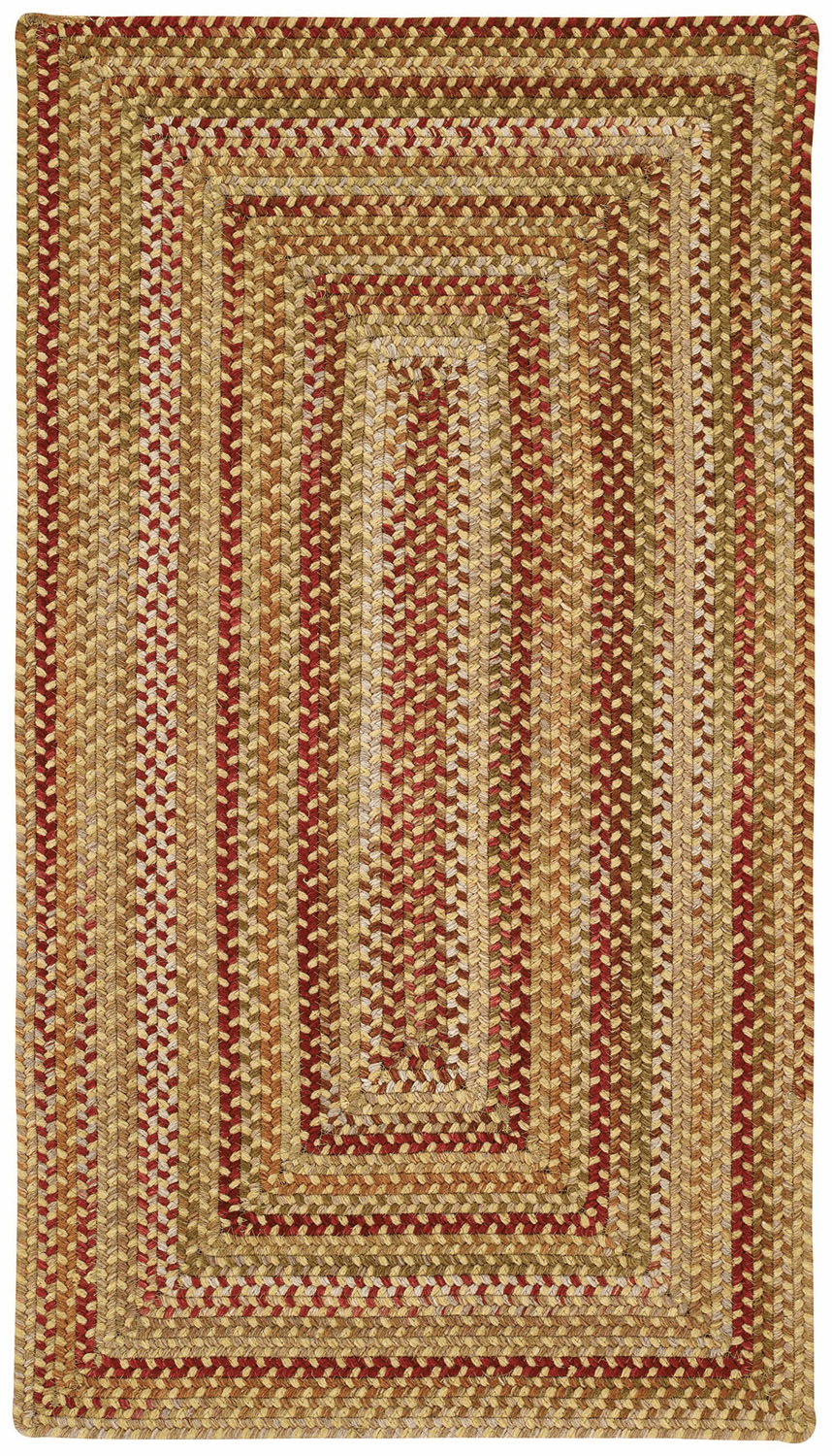 Hand-Braided Gold Hues Rug