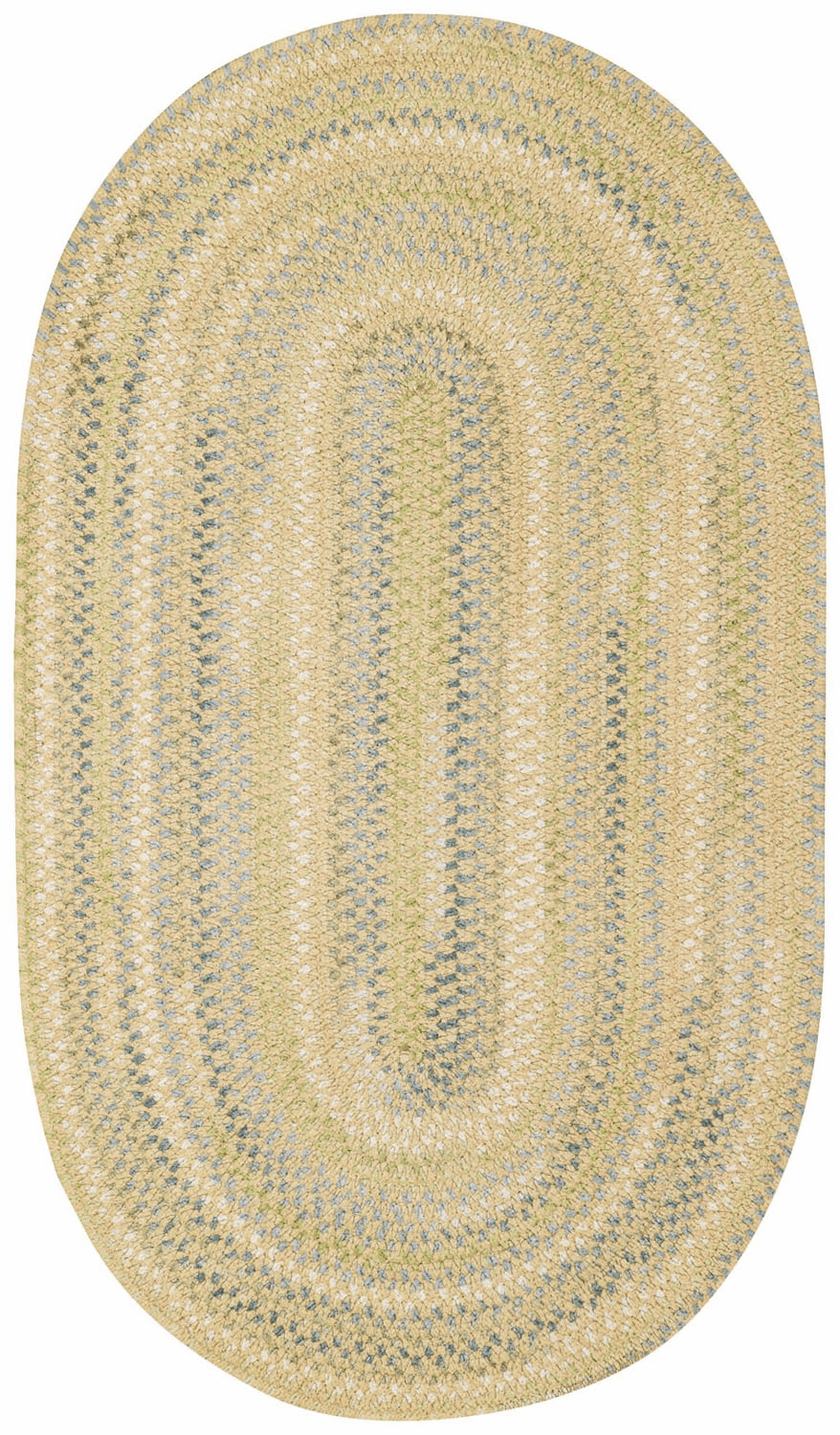 Hand-Braided Natural Rug