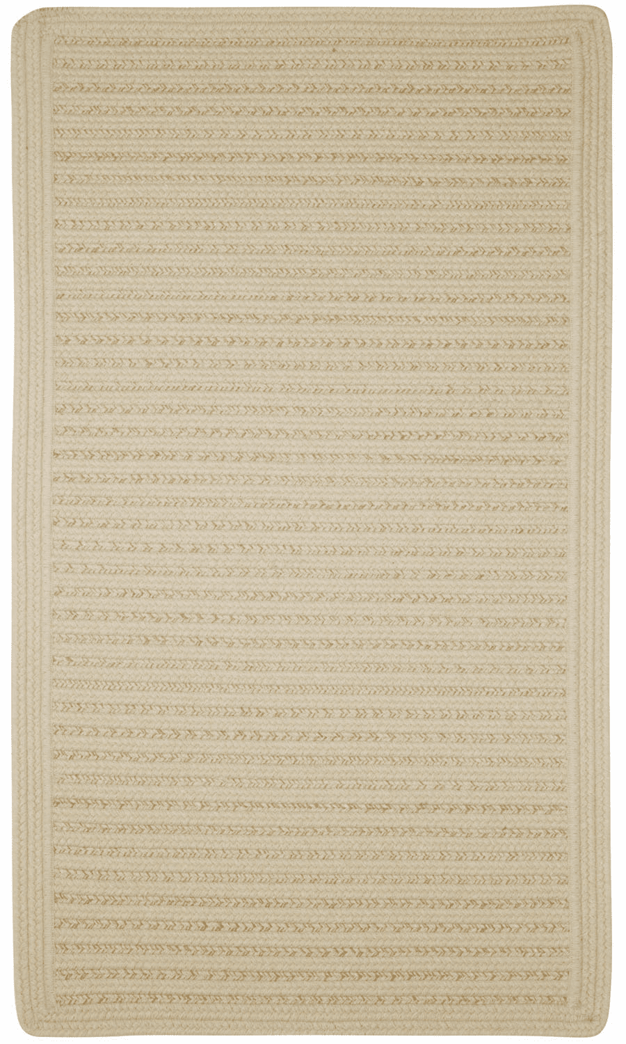Hand-Braided Oats Rug